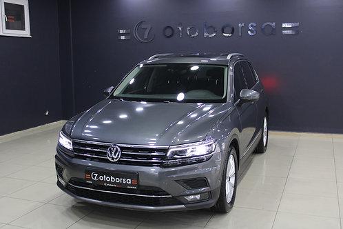 VW TIGUAN HIGHLINE 1.4 DSG 2018 MODEL BENZİNLİ 72.150 KM'DE