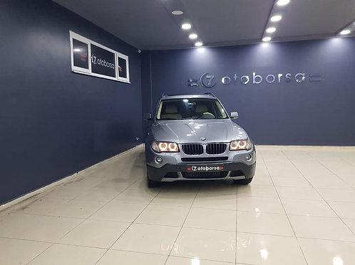BMW X3 2.0D X DRIVE 2009 MODEL METALİK GRİ