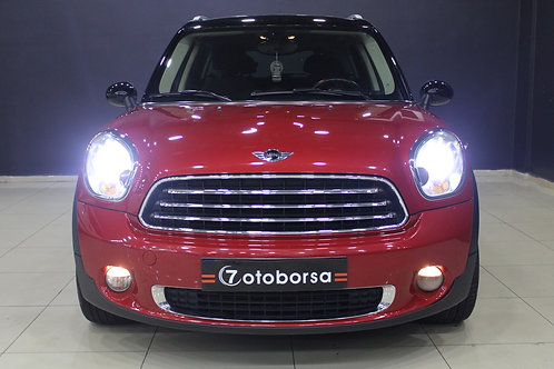 MINI COOPER COUNTRYMAN ALL4 1.6 4X4 RED DESING 2013 MODEL 69.105 KM'DE