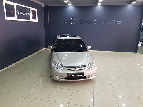 HONDA CIVIC 1.6 VTEC ES 2005 MODEL GRİ SEDAN