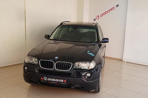 BMW X3 2.0 D X DRIVE 2008 MODEL SİYAH