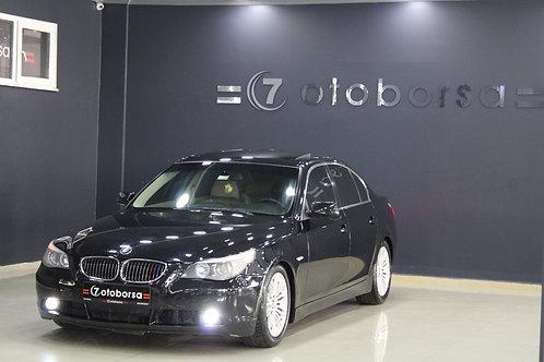 BMW 520İ STANDART E60 LCI 2004 MODEL SİYAH BENZİN&LPG 298.000KM'DE OTOMATİK