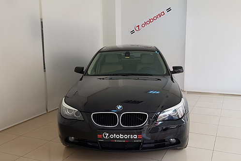 BMW 5.20D PREMIUM 2008 MODEL SİYAH