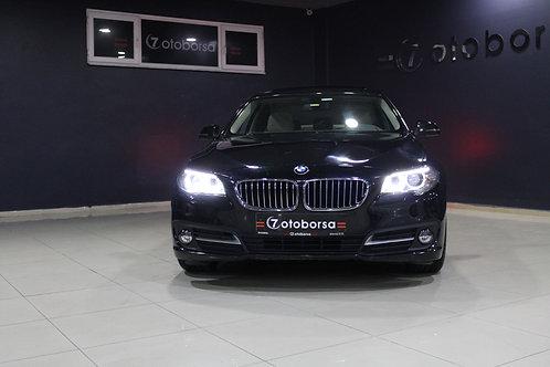 İLK SAHİPTEN BMW 520İ EXECUTIVE 2016 MODEL SİYAH YARI OTOMATİK