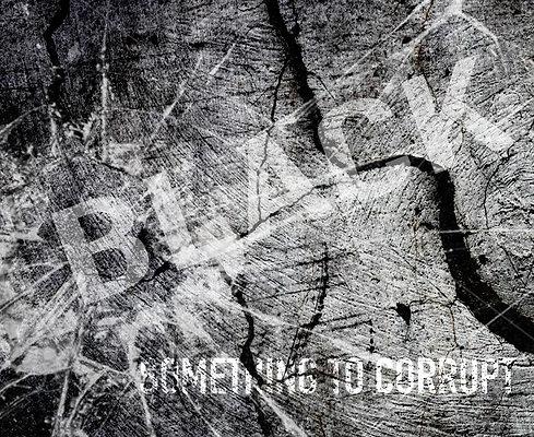 Poster - Something To Corrupt Black