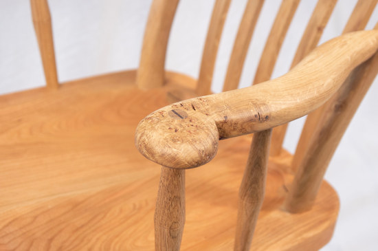Pippy Oak Chair Arm