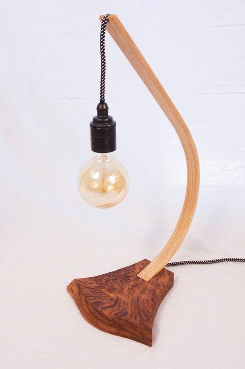Brown Oak and Ash steam bent lamp