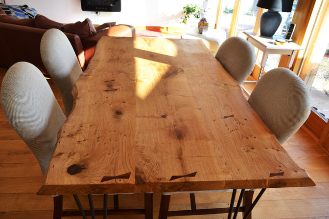Waney edge Oak table