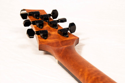 The Orta volute and headstock