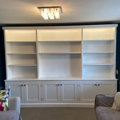 TV Bookshelf Unit