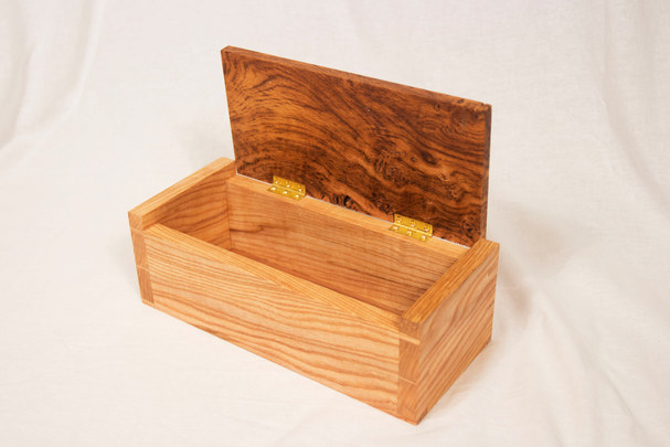 Olive Ash and Brown Oak Box