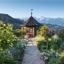 Klostergarten Viktorsberg Vorarlberg