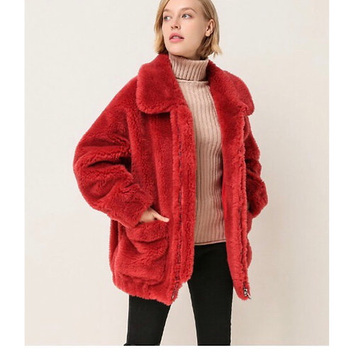 BOMBER TEDDY BEAR OVERSIZE: 6 COLORES