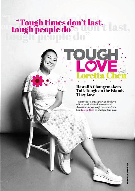 loretta chen host of Think Tech talk sho