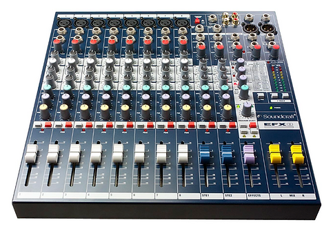 SOUNDCRAFT | CONSOLA EFX8