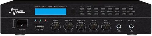 AM-1120MD - Mezclador Amplificador con USB, BT