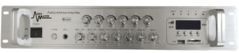 AM-SZ-120 - Amplificador Mezclador Zonal