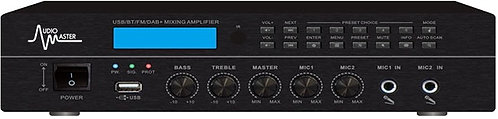 AM-1060MD - Mezclador Amplificador con USB, BT