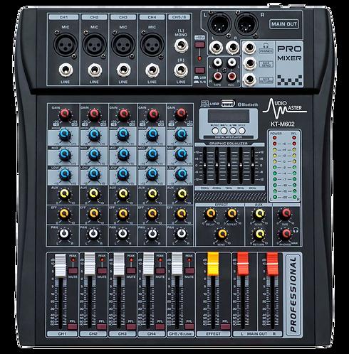 AM-KT-M602 - Consola Mezcladora