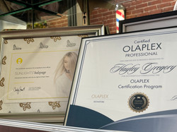 olaplex sunlights certified