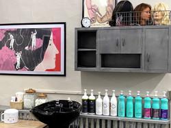 shampoo and set