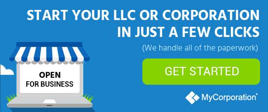 MyCorporation | Easily setup an LLC or Corporation Overnight