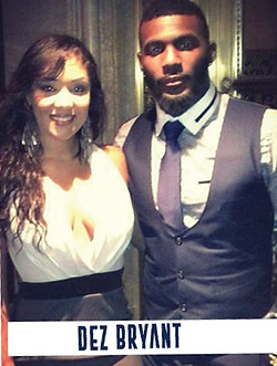 Adella Pasos - Dez Bryant - Celebrity Events