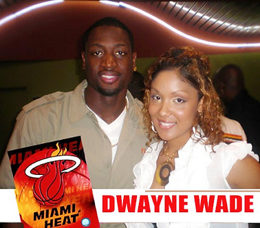 Adella Pasos - DWade - Celebrity Events
