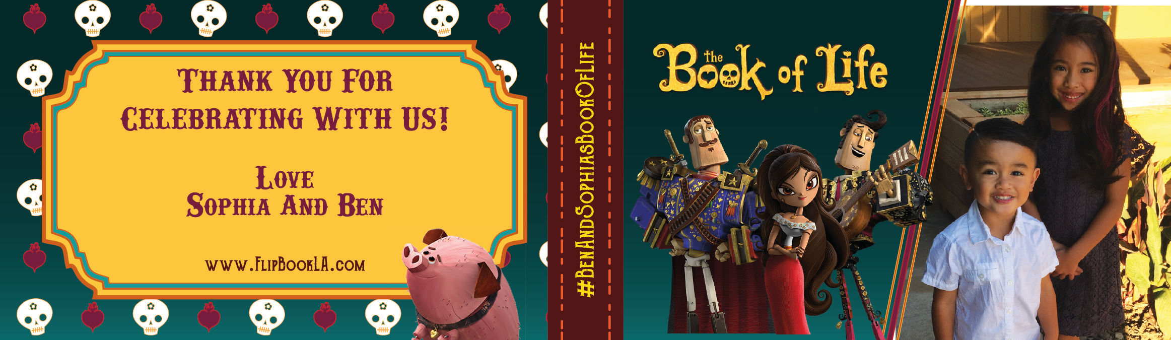 FlipBookLA - Book Of Life Birthday