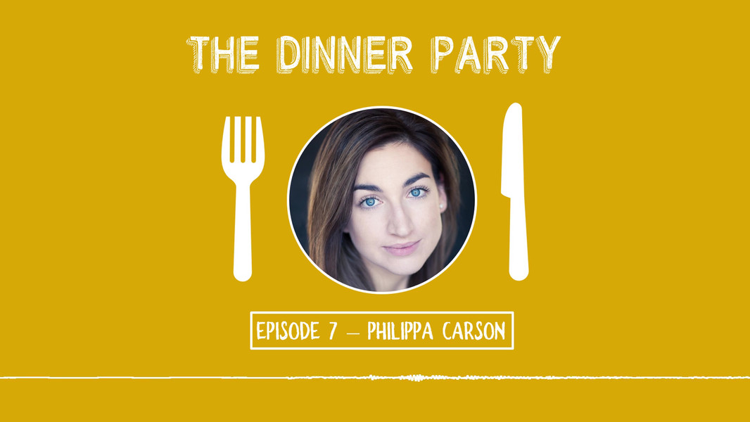 Philippa Carson on The Dinner Party
