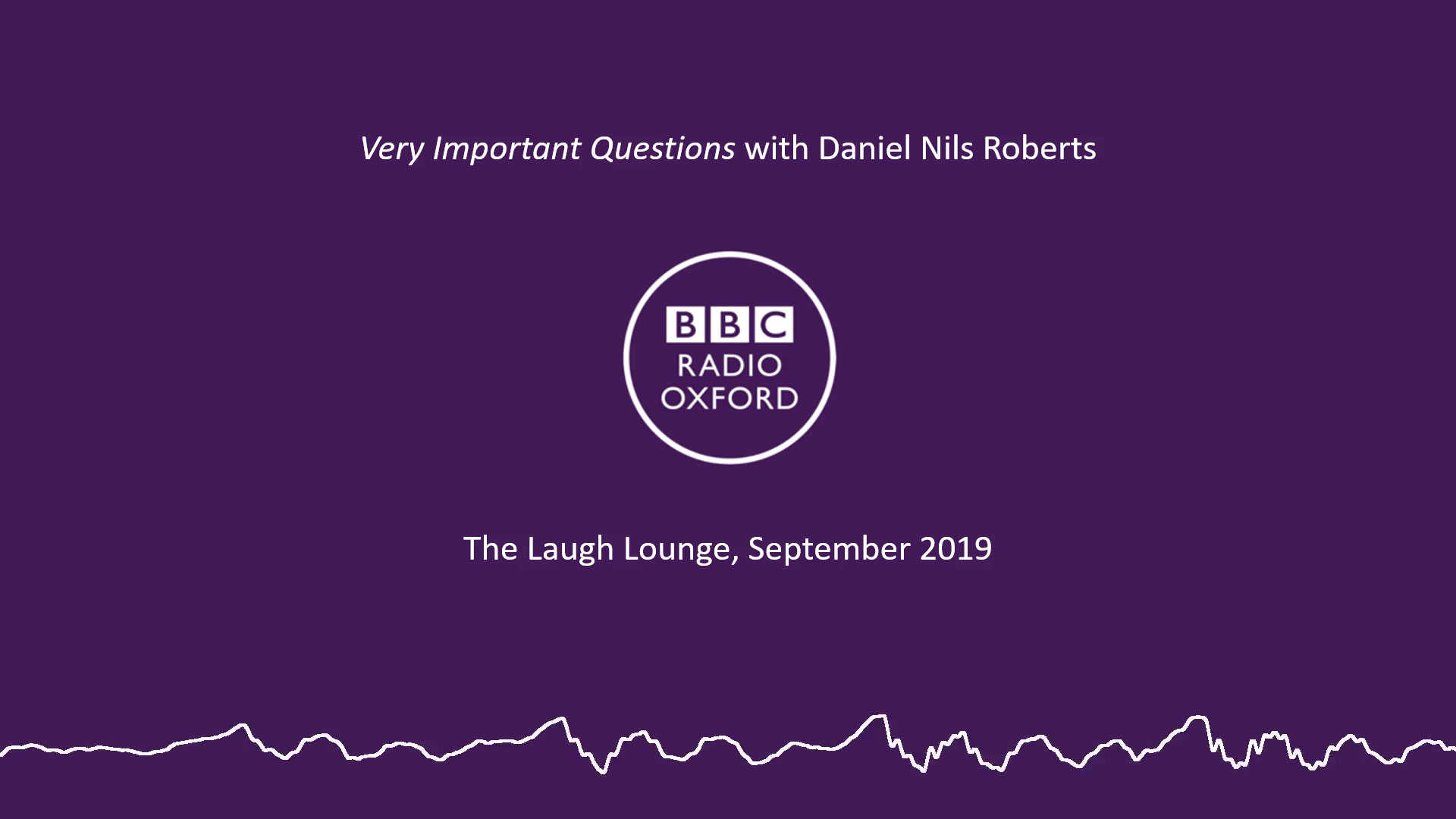Very Important Questions with Daniel Nils Roberts