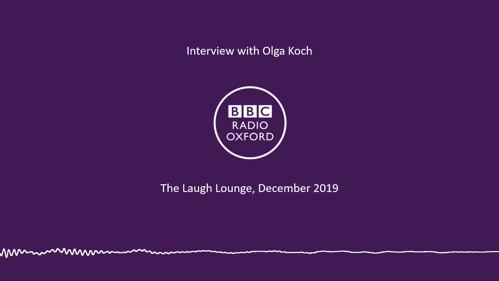 Interview with Olga Koch