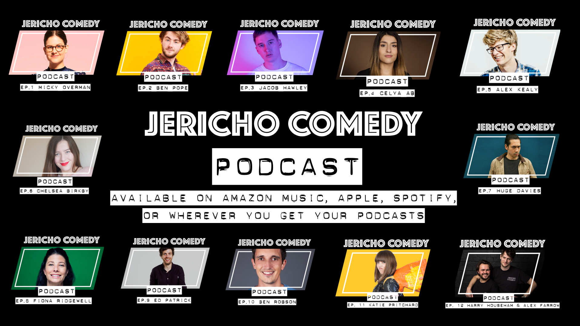 The Jericho Comedy Podcast