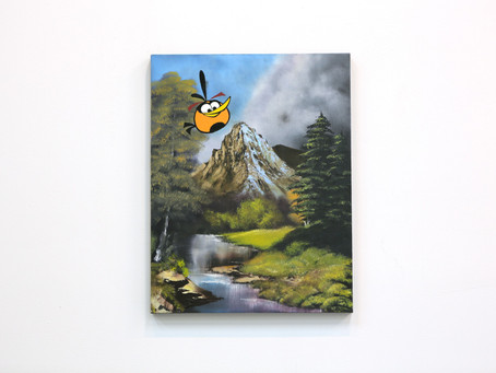 Angry Birds Paintings