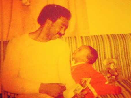 """A little girls first love, her daddy. I miss this man.  """"Forgiveness was the key to my happines"""