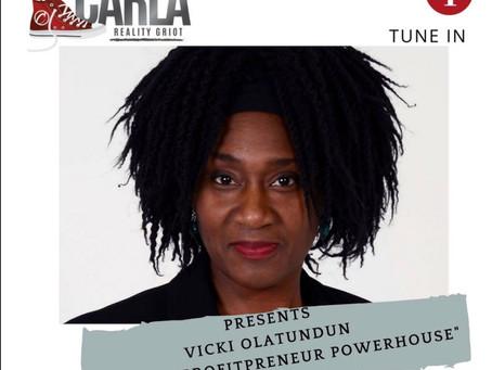 This week featured guest:Vicki Olantundun