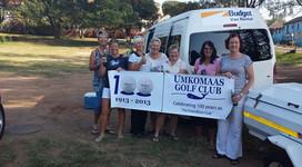 UGC ladies en route to Interclub 2013.jp
