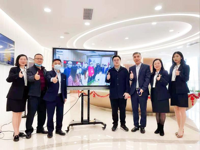 大信・活力城發佈(香港)-大信集團及公司領導親臨現場