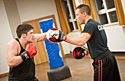 Boxing class chingford
