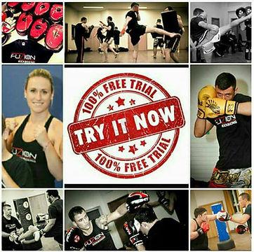Free kickboxing trial chingford