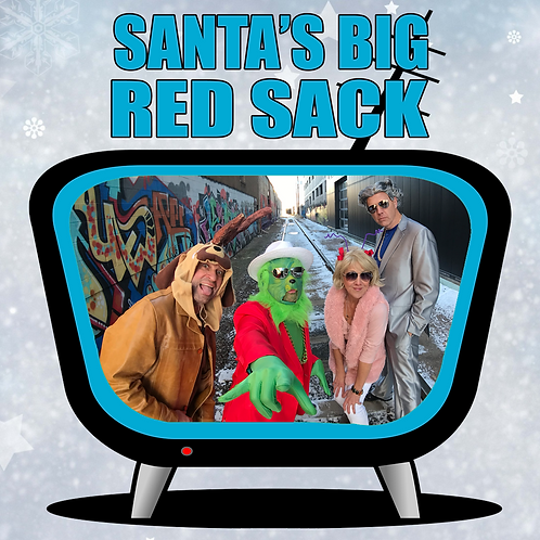 Santa's Big Red Sack Digital Download