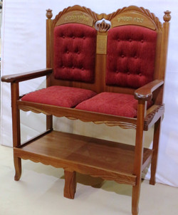 A throne for Elijah the prophet