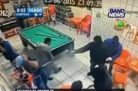 SAO PAULO : 19 TUES POUR LA MORT D'UN POLICIER