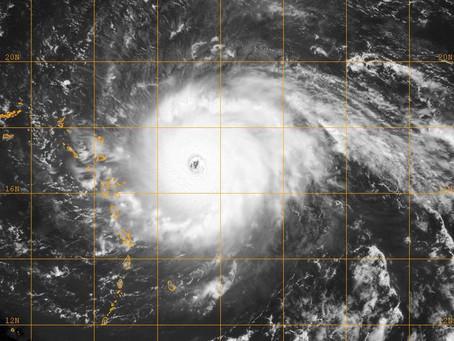 L'ouragan Irma est devenu tellement fort qu'il apparaît sur les sismomètres utilisés pour me