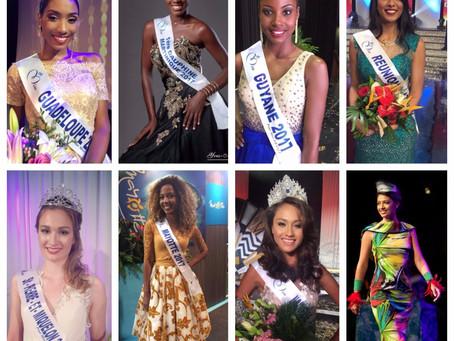 Miss France : Les ambassadrices de l'Outremer.