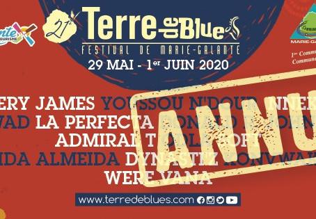 Pas de Festival Terre de Blues de Marie-Galante.
