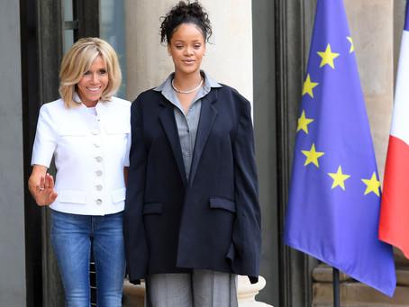 Rihanna à L'Elysée !
