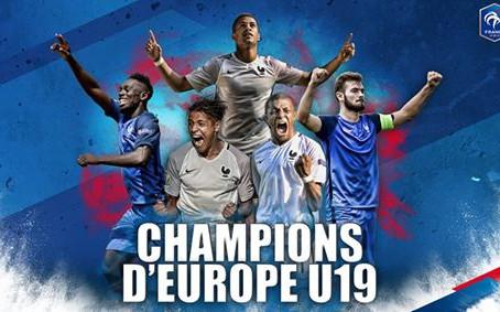 L'EQUIPE DE FRANCE U19 CHAMPIONNE D'EUROPE 2016