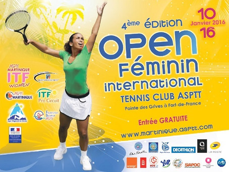 {SPORT} OPEN FÉMININ INTERNATIONAL DE TENNIS