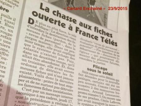 France-Télévision surveille ses employés